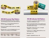 Marking Services > MS-900 自粘性标识和胶带(Self-Adhesive Markers and Tapes)
